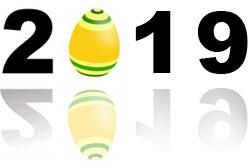 Kalender For Påske 2019 Kalender I Påsken